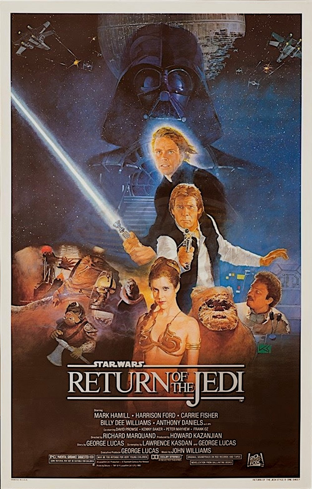 Return of the Jedi Movie Poster