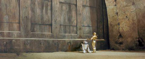 R2-D2 and C-3P0 at Jabbas Palace